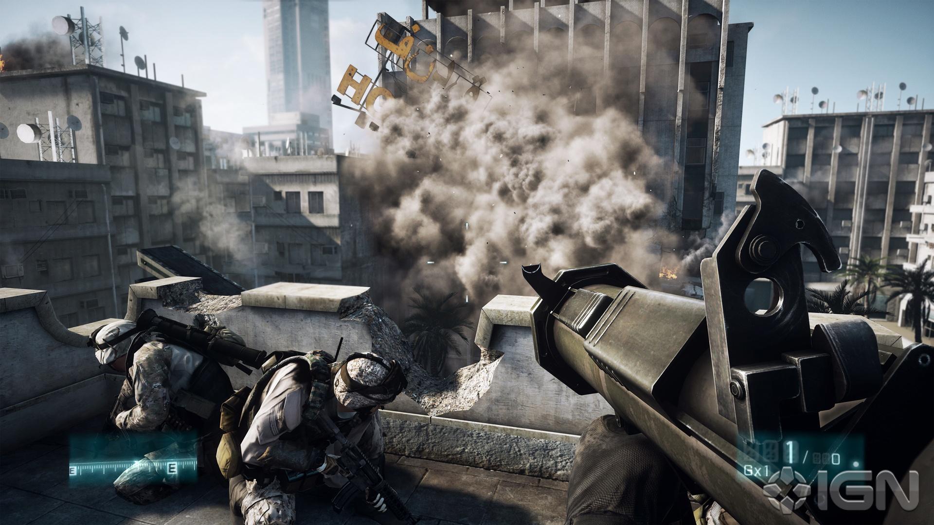 Hình ảnh trong game battlefield 3